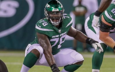 Jets' Jonotthan Harrison at center of fight against bullying